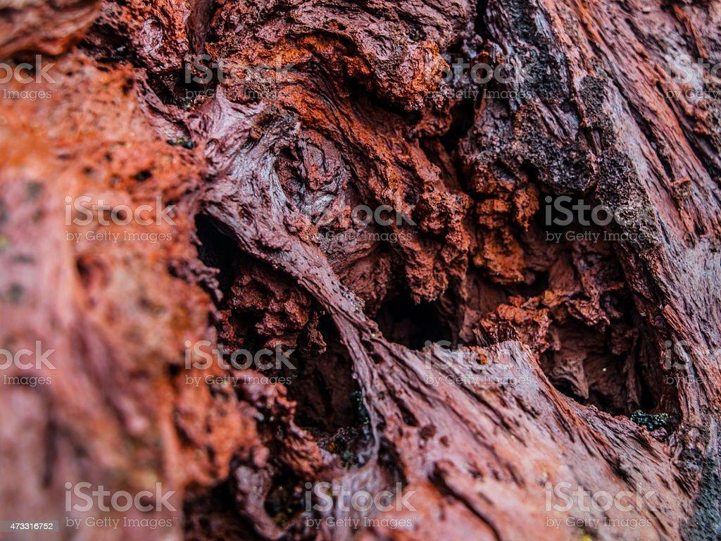 Solid lava stock photo
