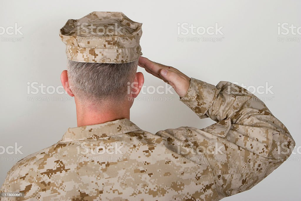 Solider royalty-free stock photo