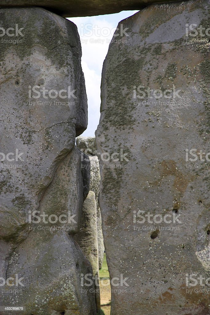 Solid Rock royalty-free stock photo