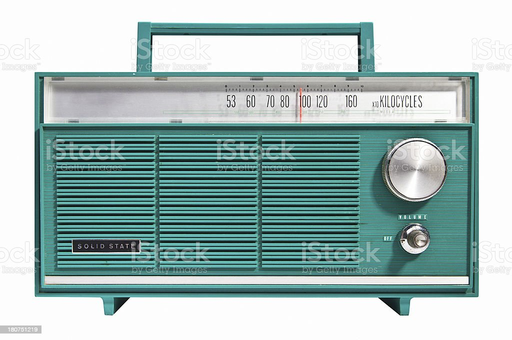 Solid State Radio stock photo