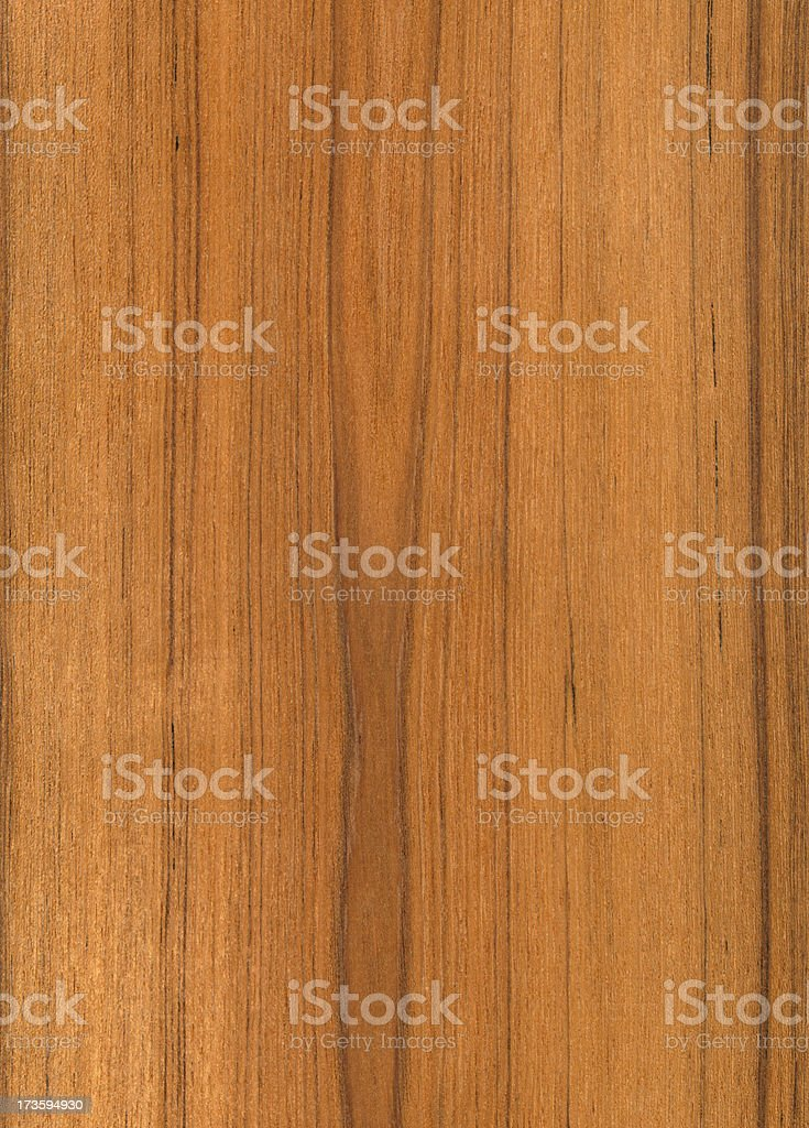 A solid wood panel made of teak stock photo