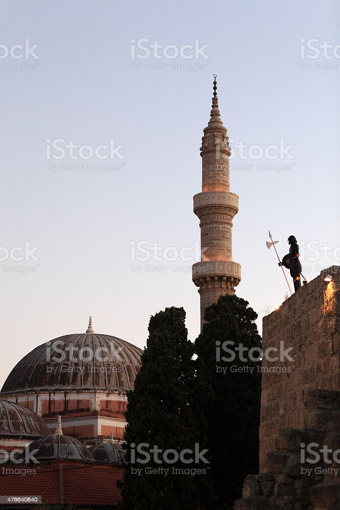 Soliman mosque stock photo