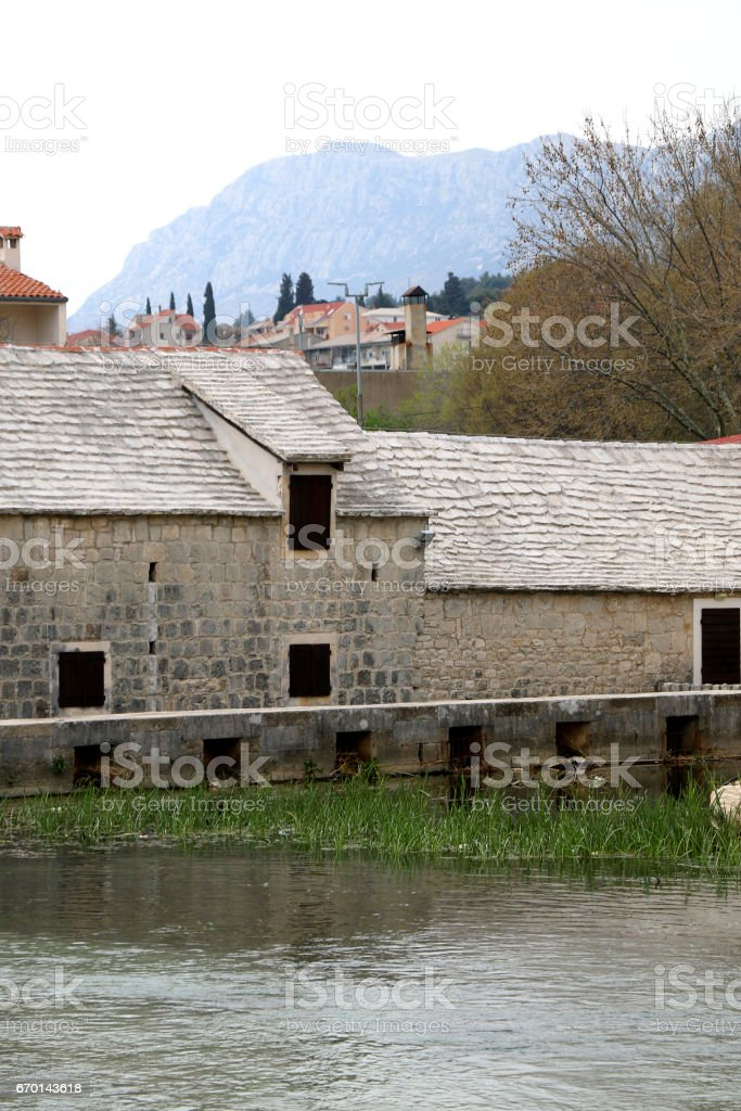 Solin, Croatia stock photo