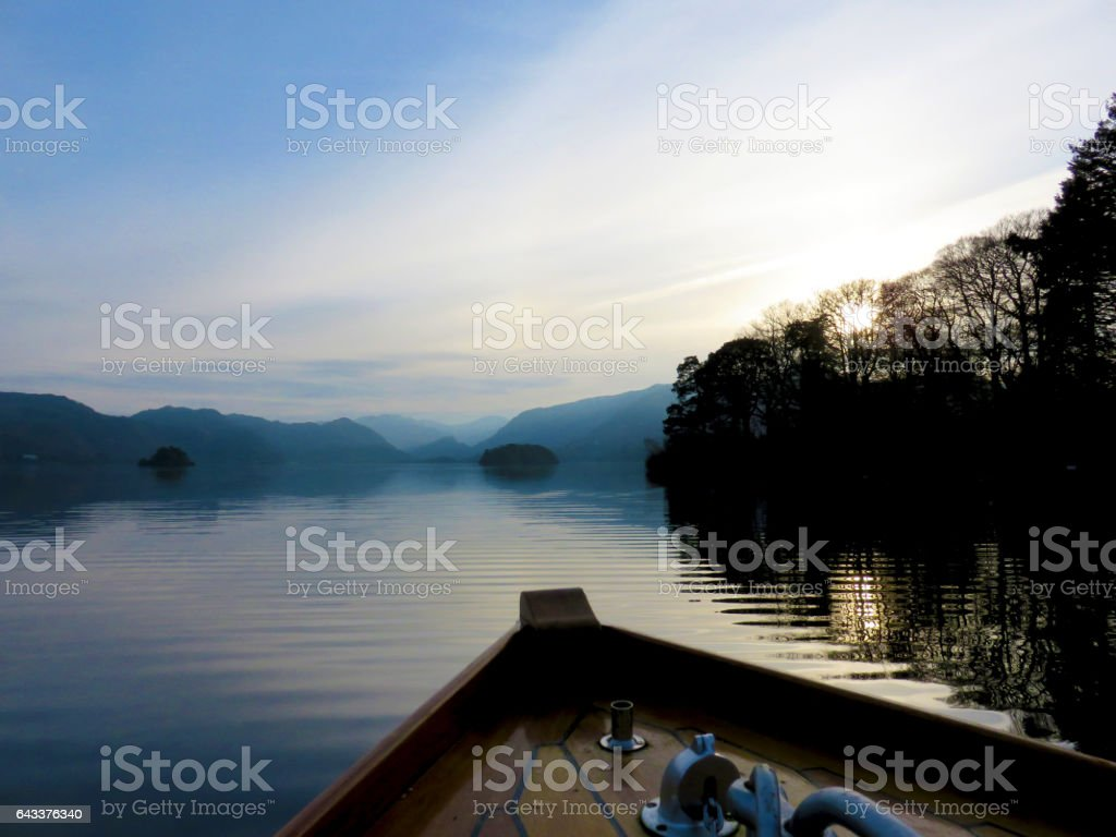 Solitary Drifting stock photo