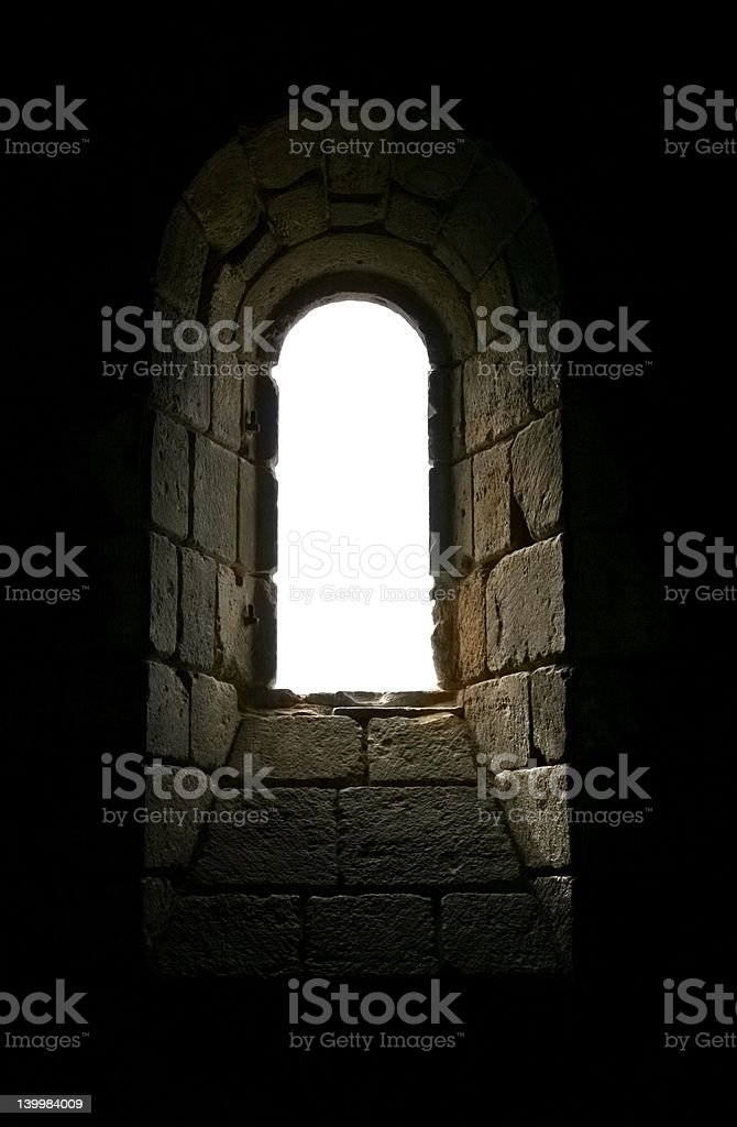 Solitary Window Light royalty-free stock photo