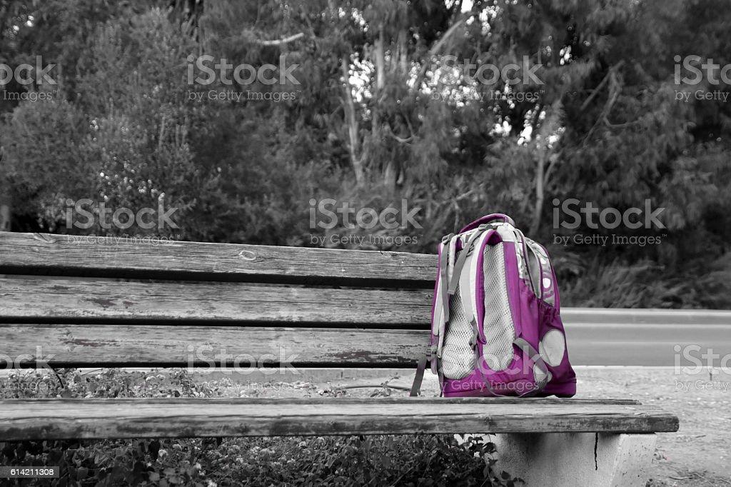 Solitude Concept stock photo