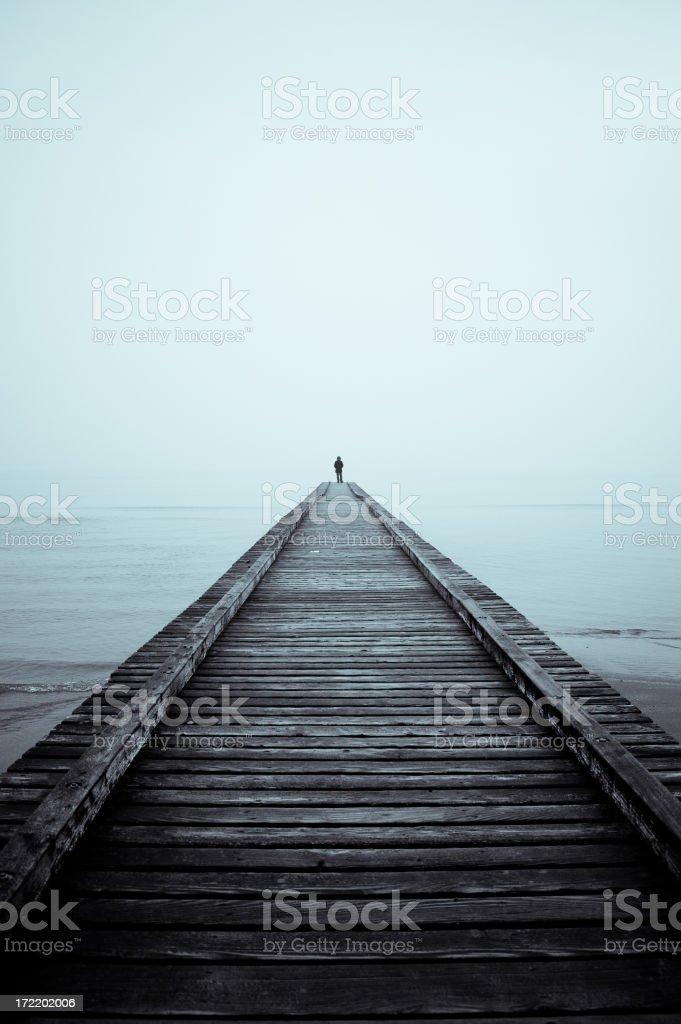 Solitude stock photo