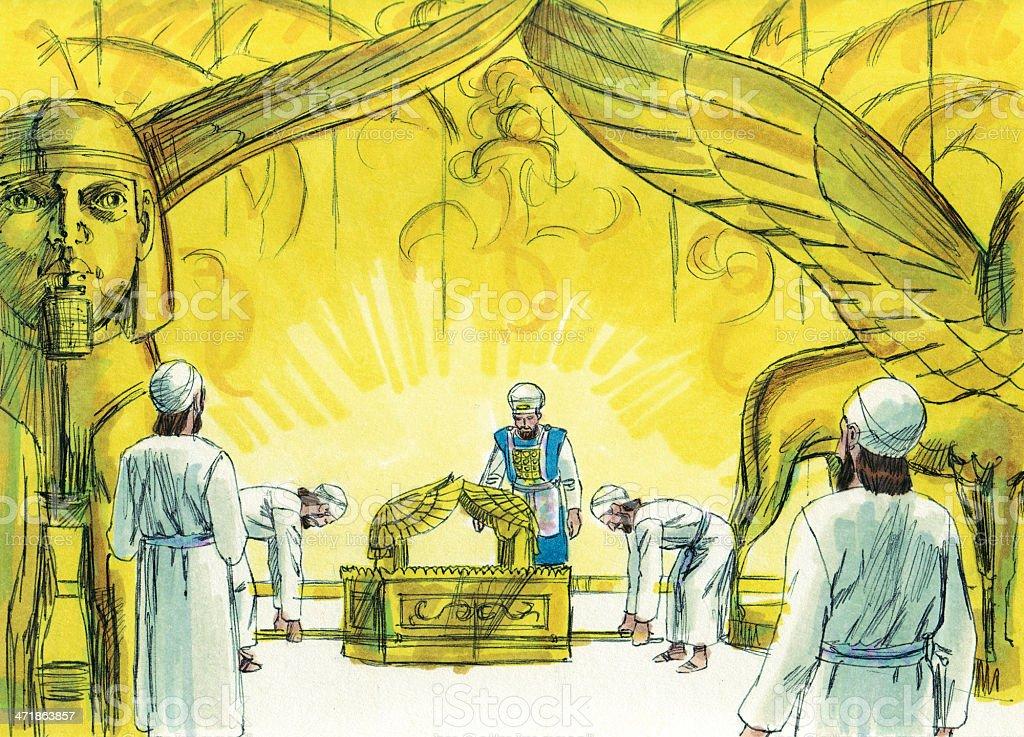 Solomon--David's Burial royalty-free stock photo