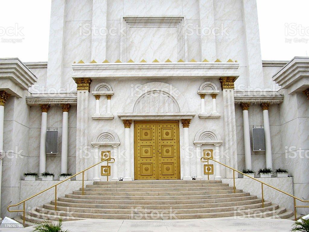 Solomon's Temple stock photo