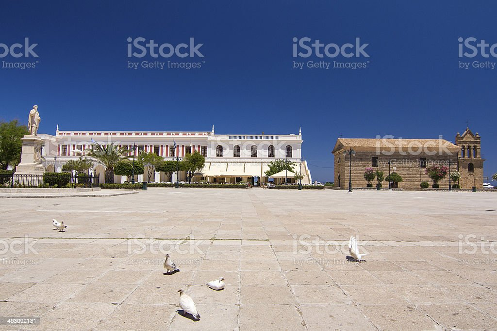Solomos Square royalty-free stock photo