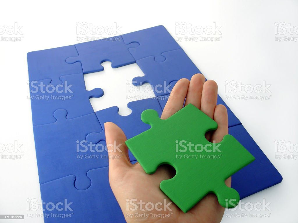 Solution 3 royalty-free stock photo