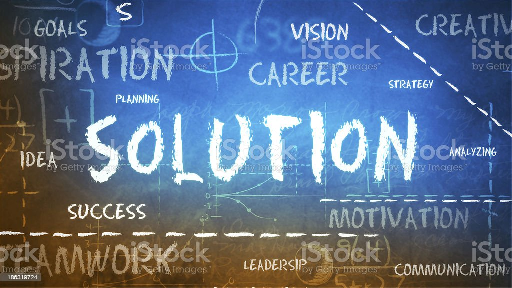 Solution Background (Loopable) royalty-free stock photo