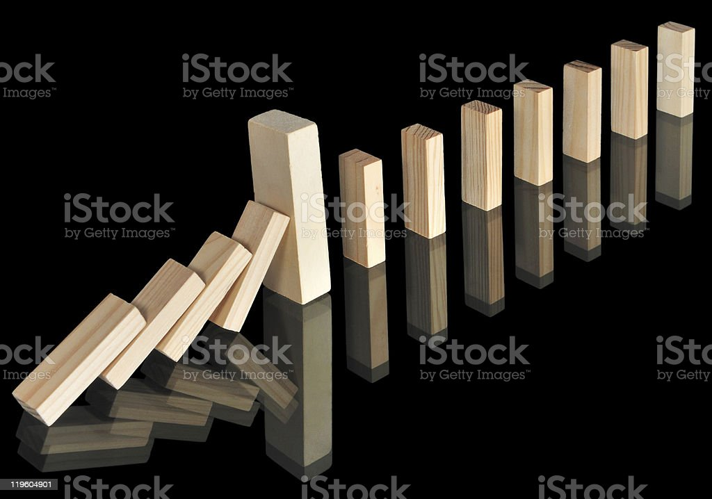 Solution - break the rule royalty-free stock photo