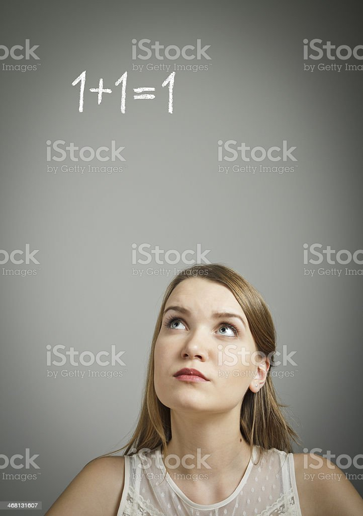 Solution. If. stock photo