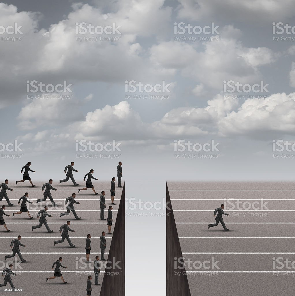 Solution Leadership Concept stock photo