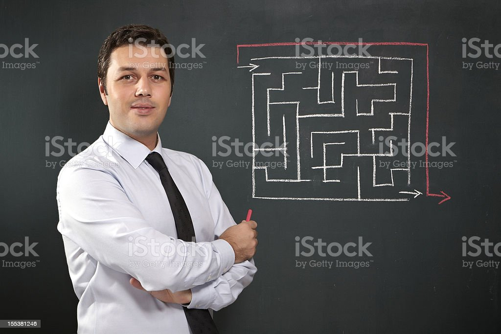 Solution royalty-free stock photo
