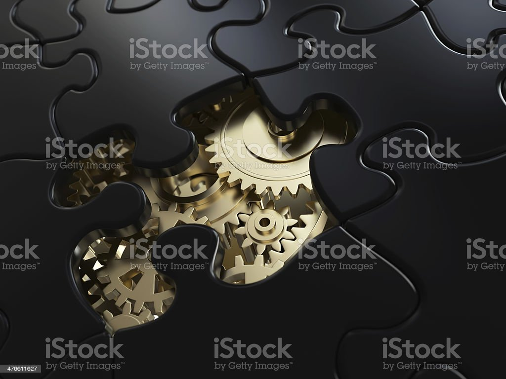 Solving the problem royalty-free stock photo