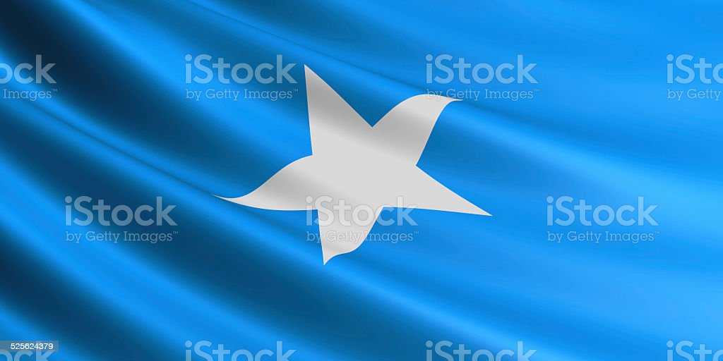 Somali flag. royalty-free stock photo