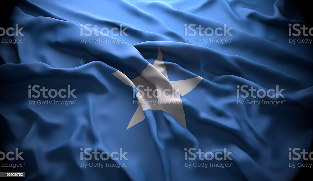 Somalia, Mogadishu national official state flag stock photo