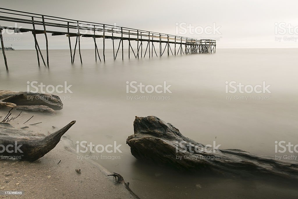 Somber Sunrise royalty-free stock photo