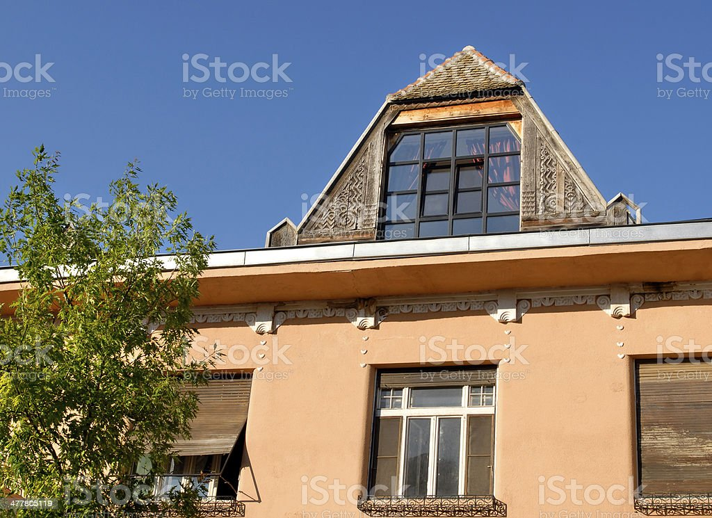 Sombor, old town royalty-free stock photo