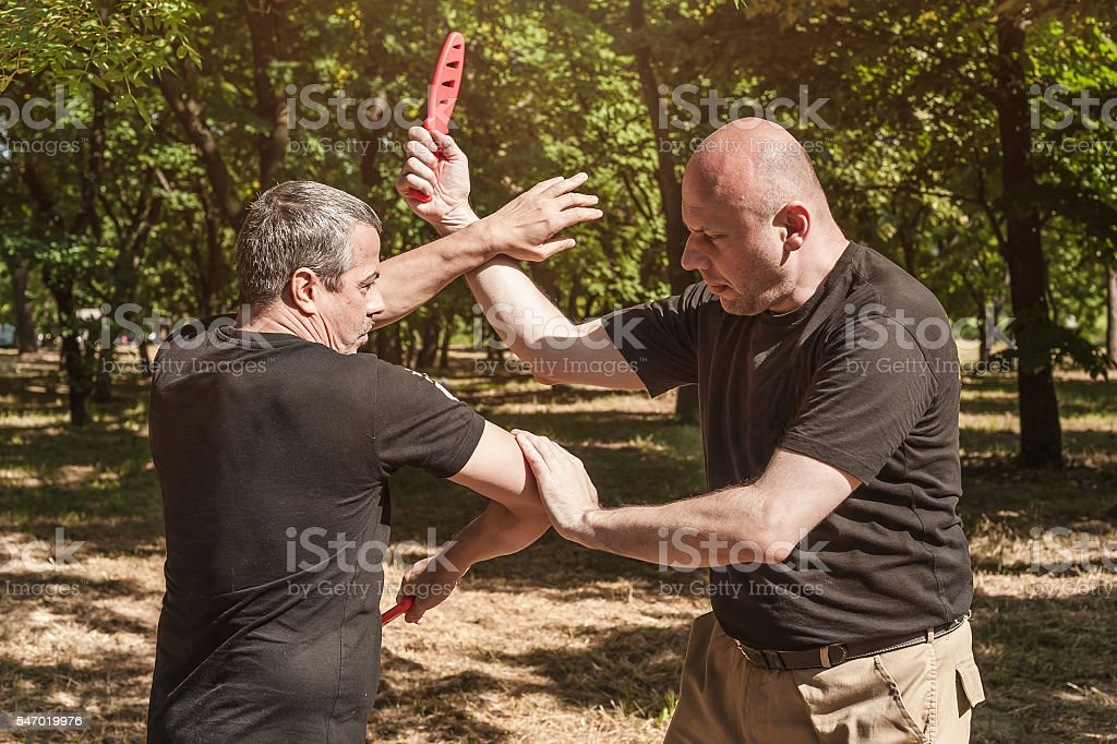 Sombrada training method stock photo