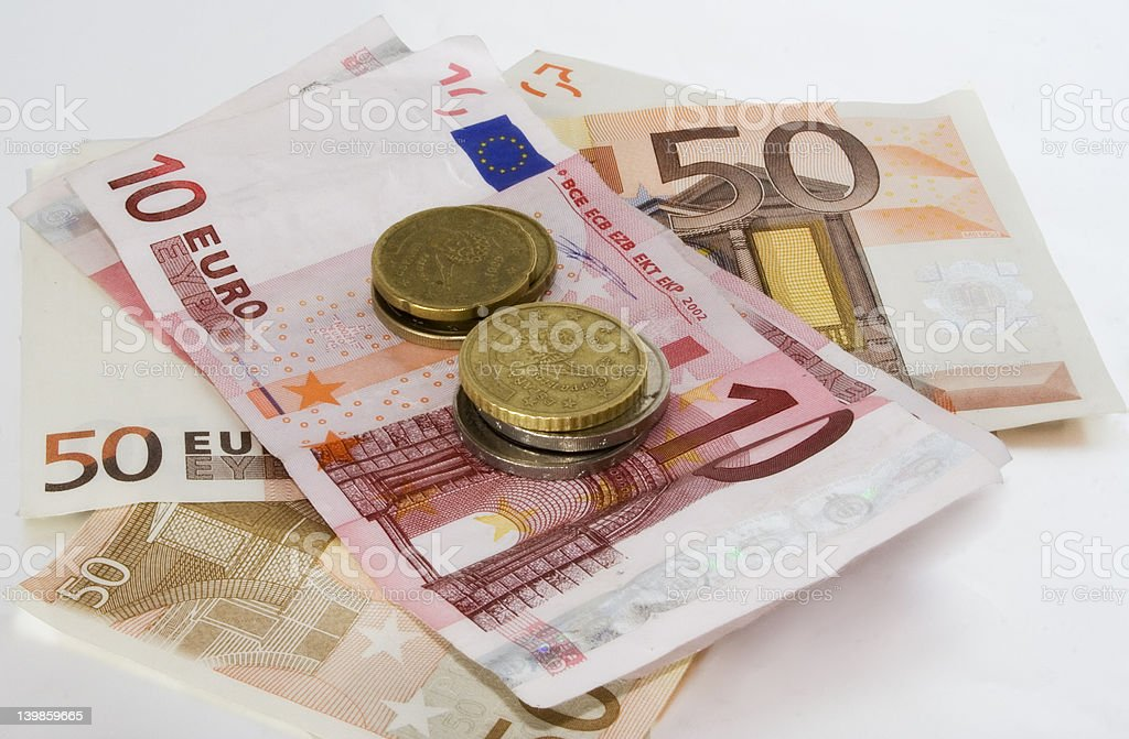 some cash stock photo