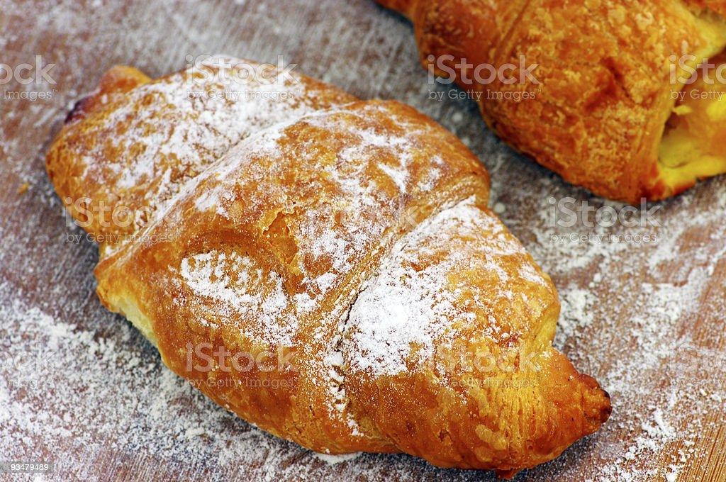 Some croissants stock photo