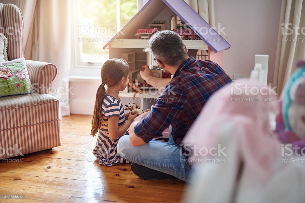 Some days are simply meant for playing stock photo