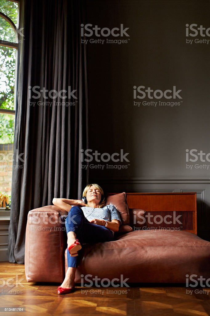 Some days are strictly for relaxing stock photo