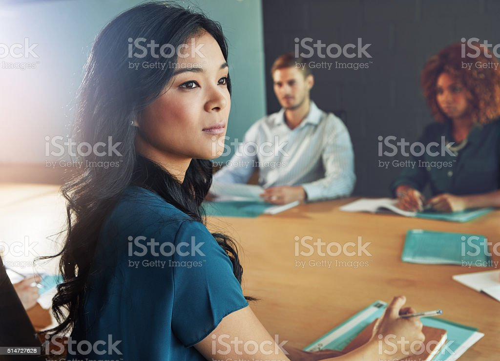 Some dream of success while others work for it stock photo