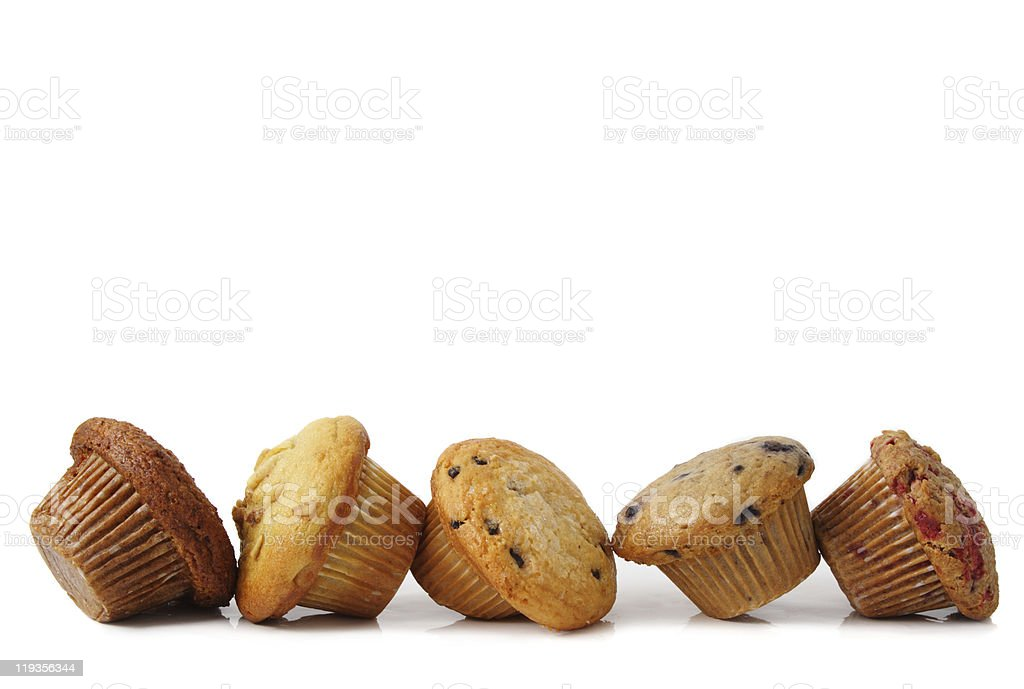 some fresh muffins stock photo