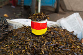 Some  fried insect, Myanmar