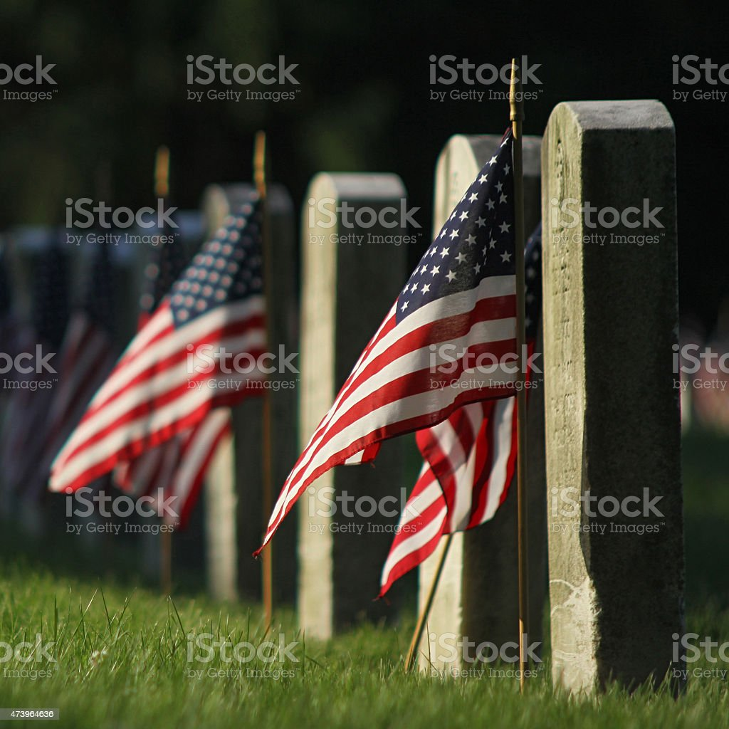 Some Gave All stock photo