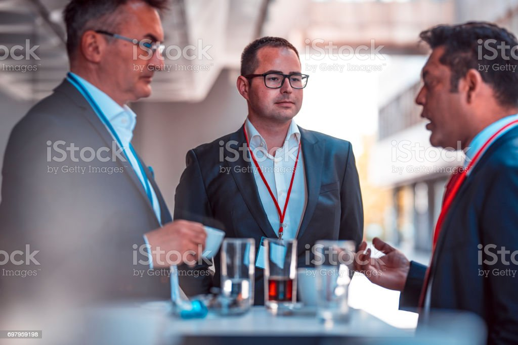 Some great ideas also during the break stock photo