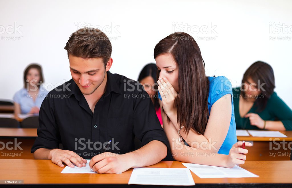 Some Help royalty-free stock photo