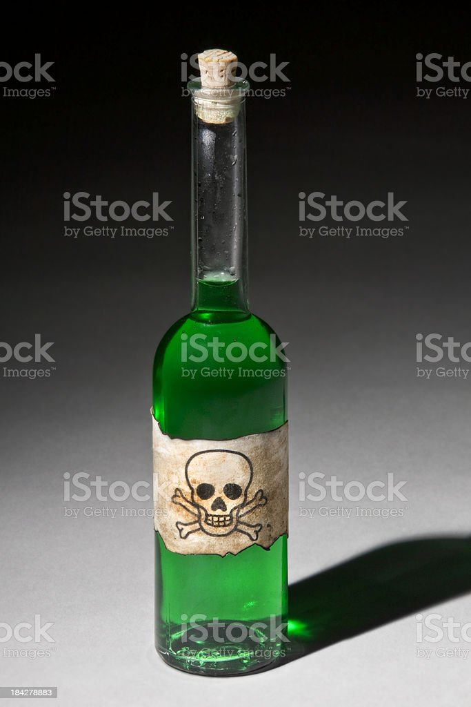 Some Homemade 'Poison' royalty-free stock photo