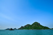 Some Island at Angthong National Park in Thailand