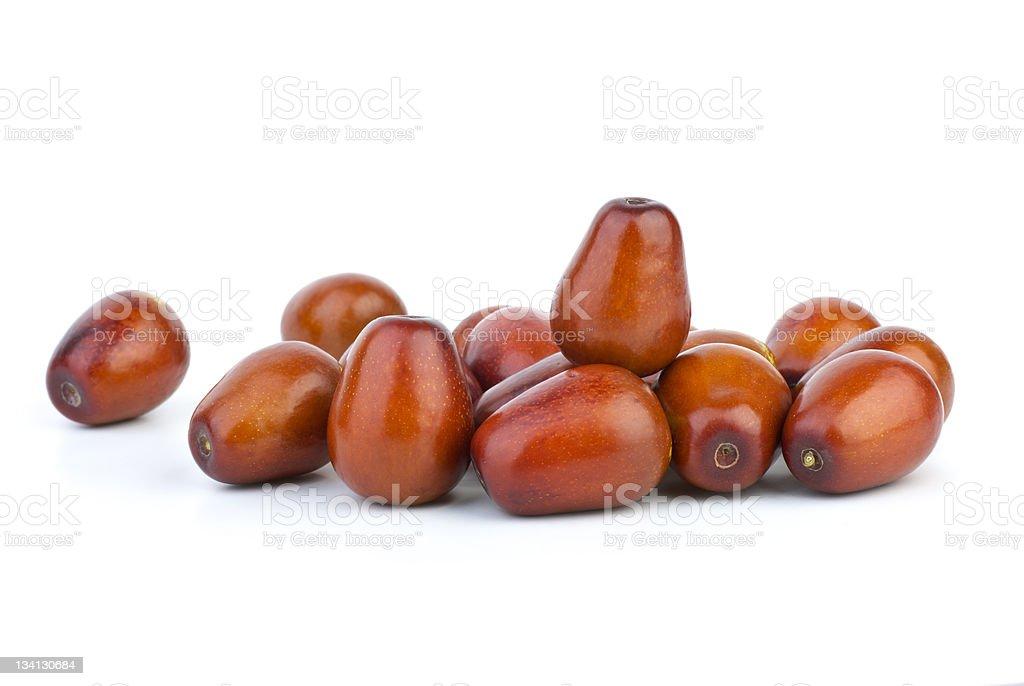 Some jujube berries stock photo