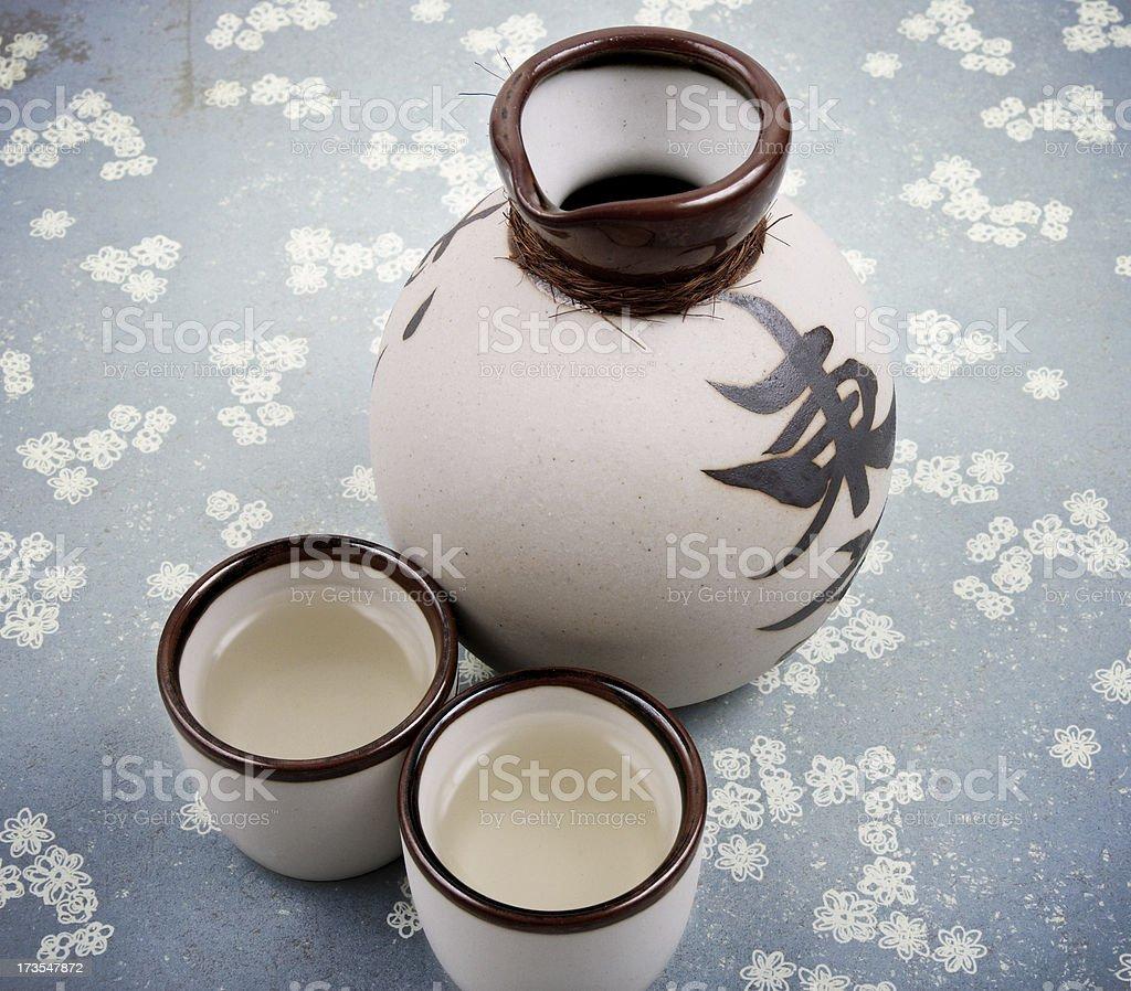Some Saki stock photo