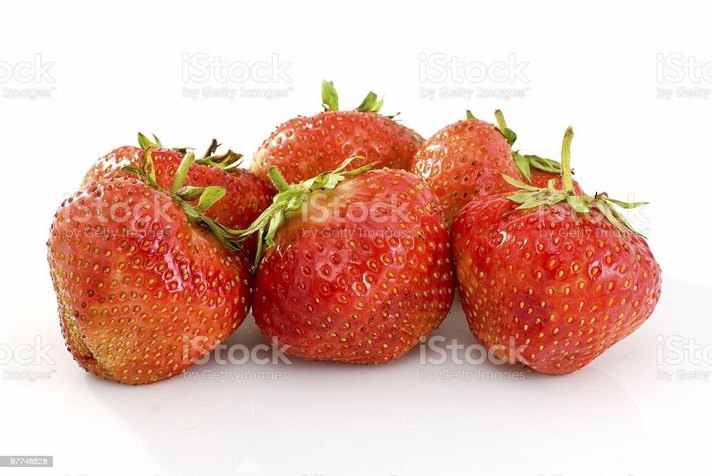 Alguns deliciosos tomates vermelhas Morangos foto de stock royalty-free