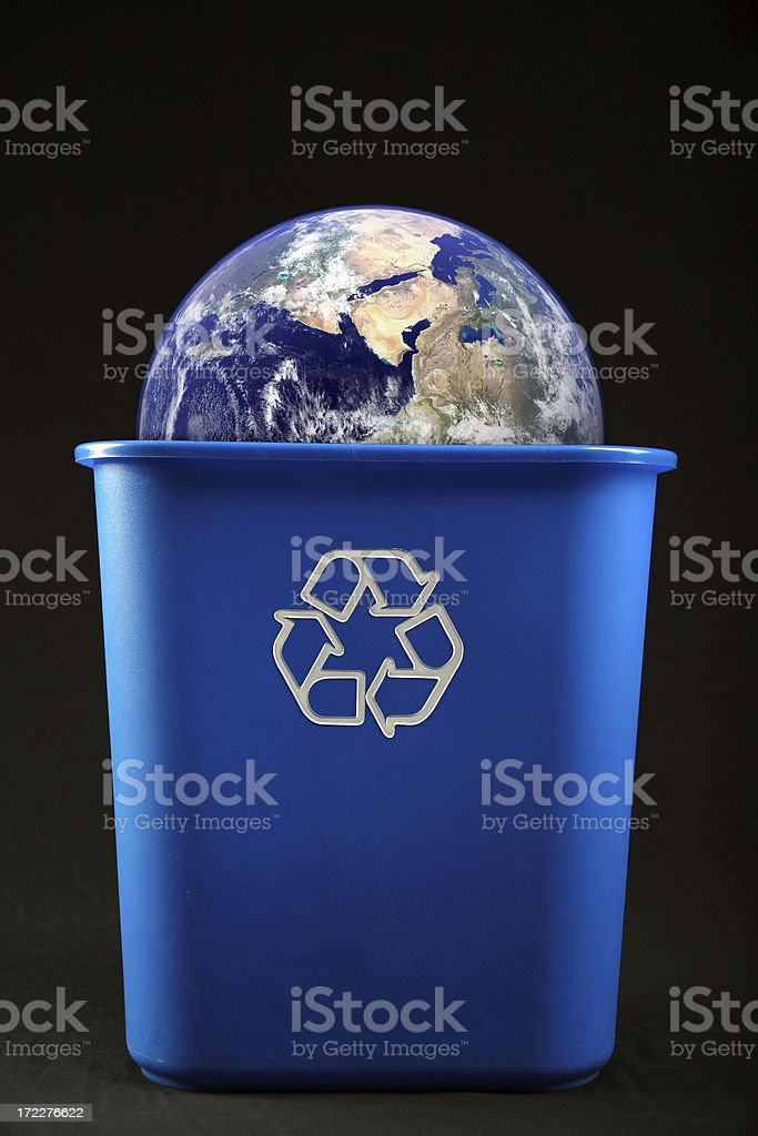 Some Things Are Not Recyclable royalty-free stock photo