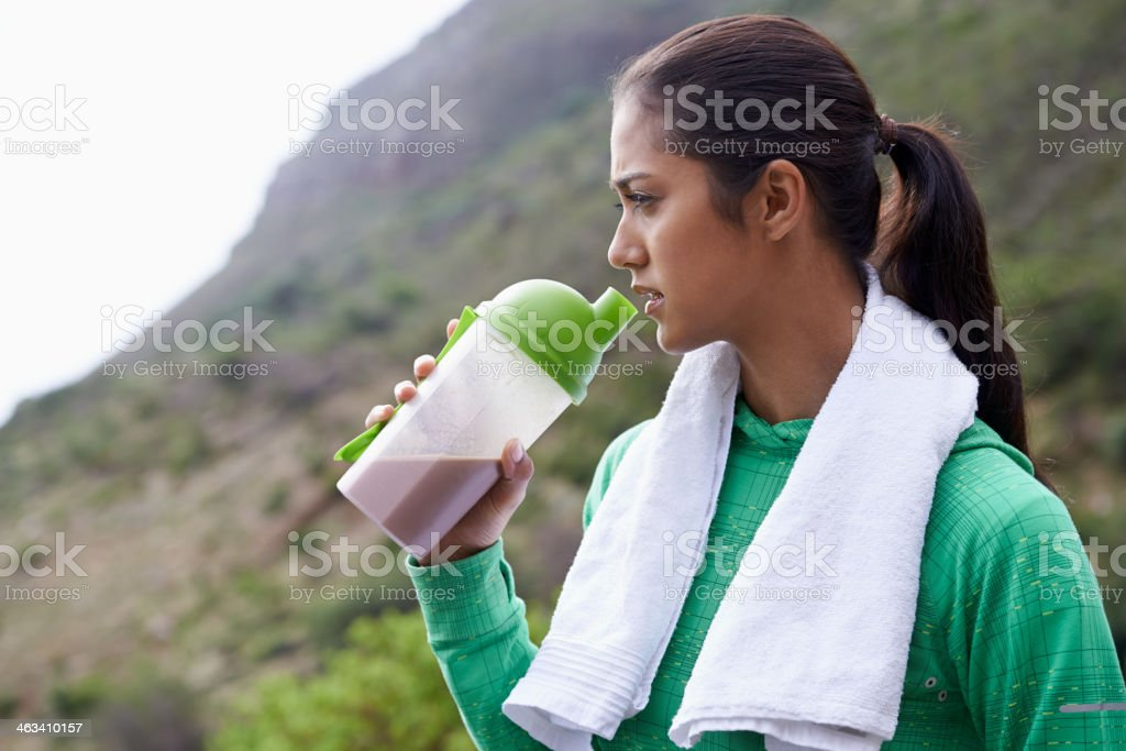 Some trail energy stock photo