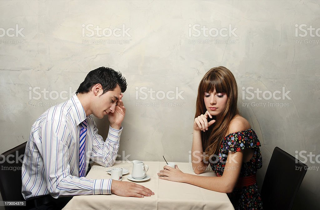 Some trouble royalty-free stock photo