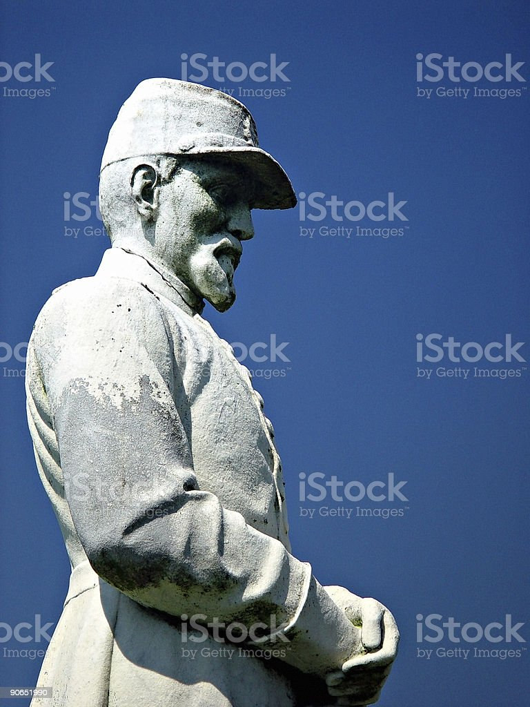 Somebody Soldier royalty-free stock photo