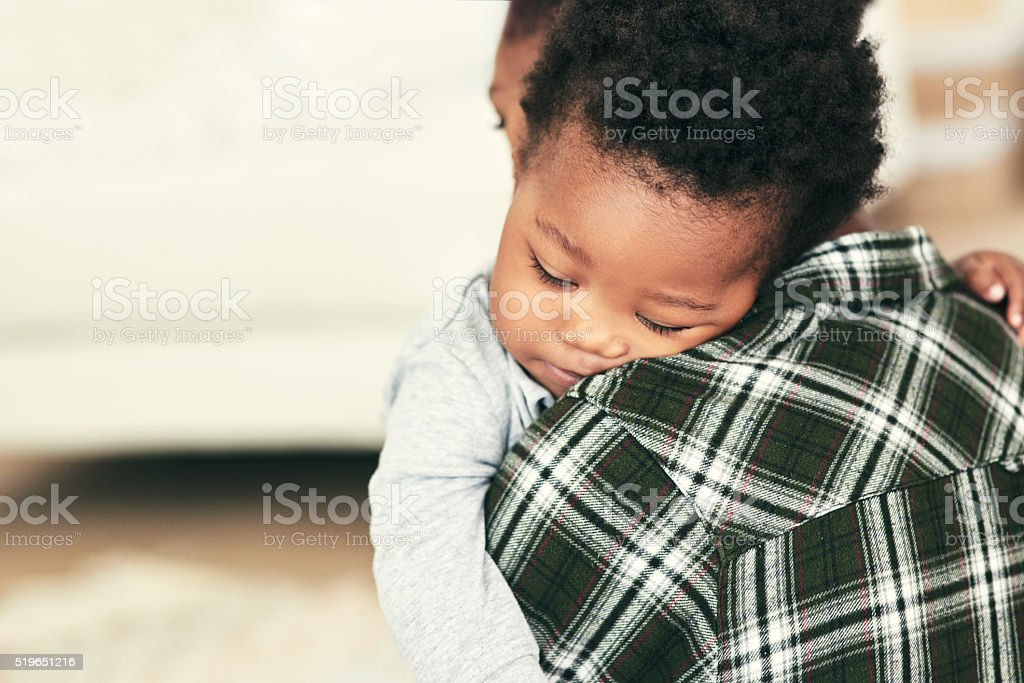 Somebody's sleepy stock photo