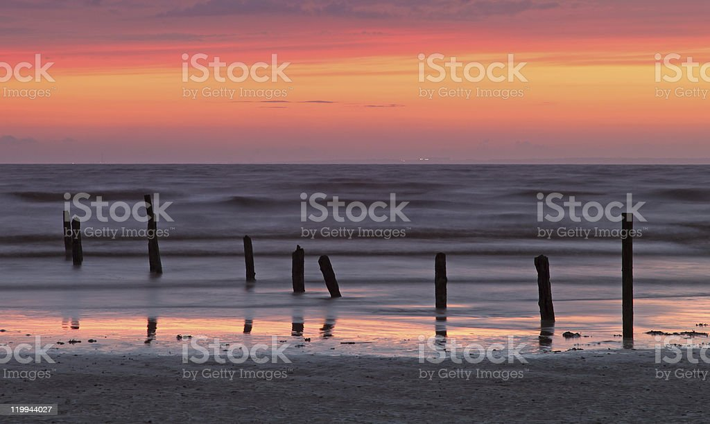 Somerset Beach royalty-free stock photo