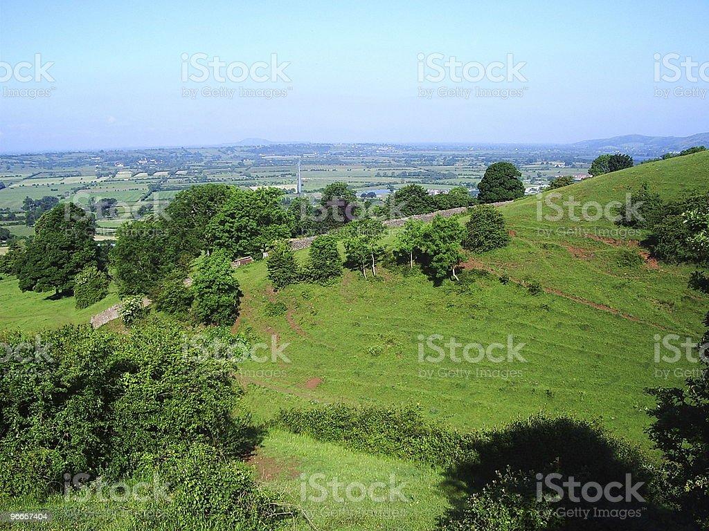 Somerset hills royalty-free stock photo