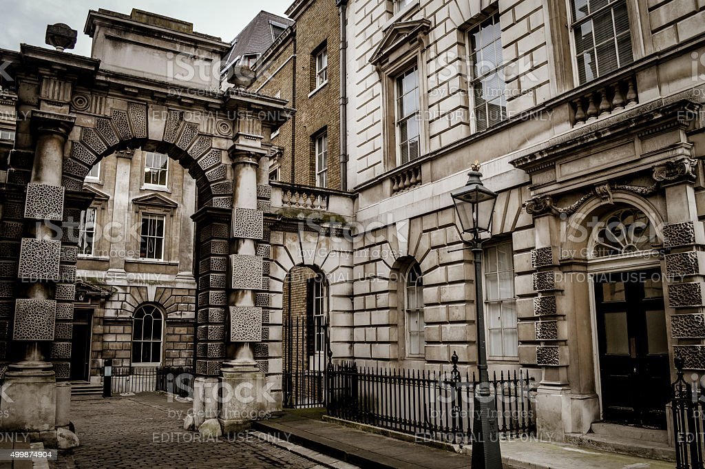Somerset House - Historic Building in London stock photo