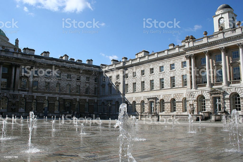 Somerset House, London stock photo